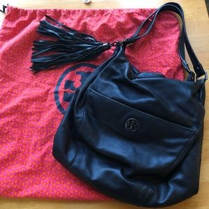 Tory Burch dean leather hobo bag